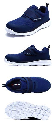 4f8294b1 LARNMERN de los hombres zapatos de seguridad zapatos de punta de acero de  construcción de calzado