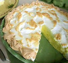 Sugar-Free, Low-Carb Lime Meringue Tart