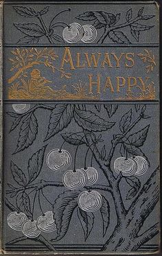 vintage book cover - it is clean, crisp and beautiful but its age has given it a creepy, textured look