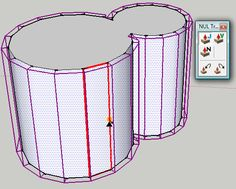 SketchUp Plugins: Extruding and Offsetting Curved Faces
