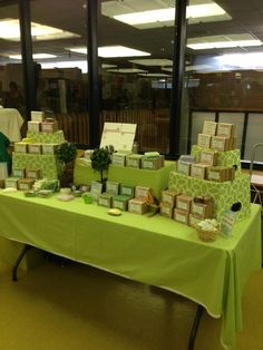 This is my soap display from a craft show