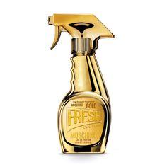 Moschino Gold Fresh Couture oz/ 100 ml Eau De Parfum Spray Cologne, Couture Perfume, Chanel Perfume, Perfume Floral, Granita, Miniature Bottles, Joan Smalls, New Fragrances, Beauty Makeup
