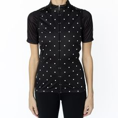 Women's Polka Dots Wind Vest