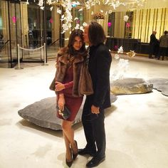 Shiva Safai and Mohamed Hadid..