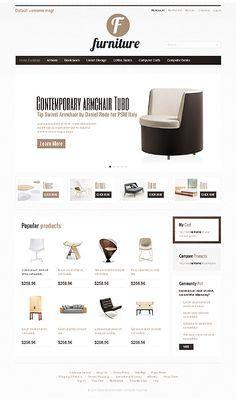 Sleek e-commerce design