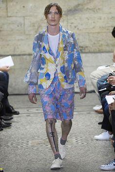 Comme des Garçons Spring 2008 Menswear Collection Slideshow on Style.com