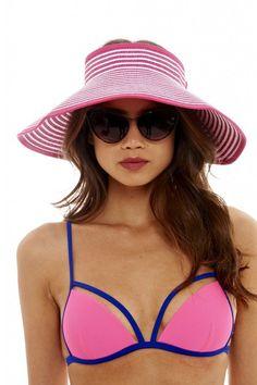 Pin for Later: 40 Summer Hats For Stylish Sunny Days AX Paris Wide Brim Visor Hat AX Paris Wide Brim Visor Hat (£10)