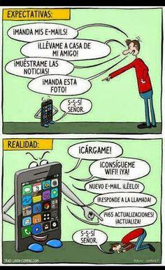 Las expectativas y la realidad de un Smartphone