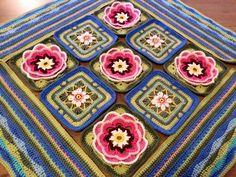 By Lovisa Sjunnesson Johnsson Owl Patterns, Crochet Patterns, Lily Pond, Yarn Bombing, Tatting, Knit Crochet, Crocheted Blankets, Bedspreads, Quilts