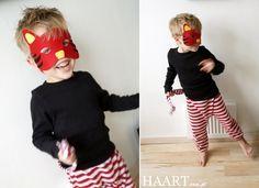 www.haart.com.pl DIY zrób to sam carnival maska przedszkolak