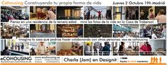 ¿Qué es #cohousing? El proyecto centrado en las necesidades de las personas En la Jam Session del 2 de octubre en Designit España pudimos conversar con los asistentes. Recibimos tanto como dimos: ¡cultura colaborativa en estado puro!