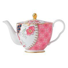 Wedgwood Butterfly Bloom Ceramic Teapot   Bloomingdale's