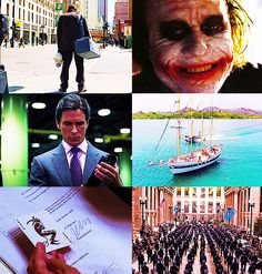 """""""Some men aren't looking for anything logical, like money. They can't be bought, bullied, reasoned, or negotiated with. Some men just want to watch the world burn."""" The Dark Knight"""