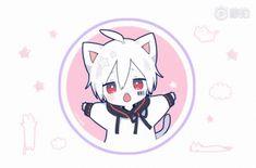 Anime Chibi, Kawaii Anime, Fanarts Anime, Kawaii Chibi, Anime Cat, Cute Chibi, Anime Eyes, Anime Characters, Neko Boy