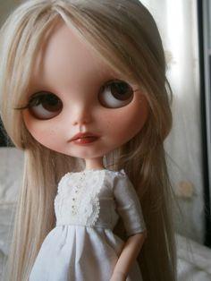 ooak custom blythe doll Christine by Gerakina