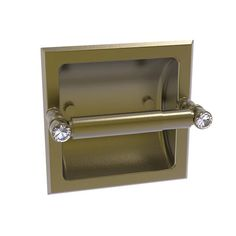 Carolina Crystal Collection Recessed Toilet Paper Holder – Allied Brass