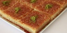 A great taste that you can& get enough to eat. Turkish Recipes, Ethnic Recipes, Good Food, Yummy Food, Fun Food, Köstliche Desserts, Middle Eastern Recipes, Recipe Images, Food Cakes