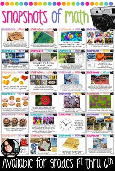 Bring math to life using authentic word problems with visual pictures for your students!