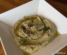 Aprende a preparar hummus de lentejas - Fotos paso a paso con esta rica y fácil receta.  Esta es una rica forma de cocinar las lentejas, el humus es una salsa muy...