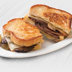 Make it a Mushroom & Swiss night whenever you want with this premium HORMEL<sup>®</sup> Sliced Roast Beef & Gravy Refrigerated Entrée.
