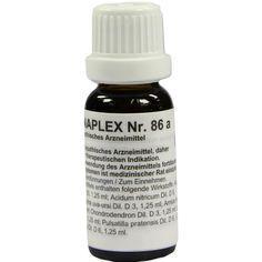 REGENAPLEX Nr.86 a Tropfen:   Packungsinhalt: 15 ml Tropfen PZN: 02643392 Hersteller: REGENAPLEX GmbH Preis: 7,69 EUR inkl. 19 % MwSt.…