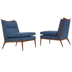 Mid Century Lounge Chairs by Paul McCobb | From a unique collection of antique and modern lounge chairs at https://www.1stdibs.com/furniture/seating/lounge-chairs/
