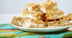 drobenkový koláč s jablky a tvarohem Krispie Treats, Rice Krispies, Apple Pie, Sprinkles, Ale, Oatmeal, Breakfast, Russian Recipes, Food