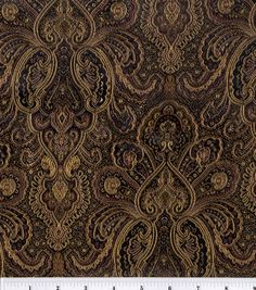 Brocade Fabric-Black-Bronze Tapestry  : special occasion fabric : apparel fabric : fabric :  Shop | Joann.com
