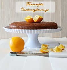 Fanouropita.JPG | A delicious cake that is made in Greece when we want something lost to appear | culinaryflavors.gr | #fanouropita #cake #orange #eggs #sweet #dessert
