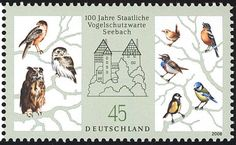 Eurasian Blue Tit stamps - mainly images - gallery format