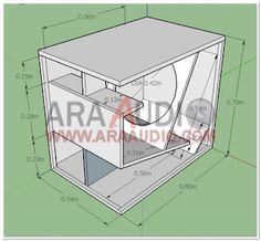 Skema Box Subbass 18 inch - ARA AUDIO Noise seclusion and also traditional necessary arrangements 15 Inch Subwoofer Box, Diy Subwoofer, Subwoofer Box Design, Speaker Box Design, Audio Amplifier, Hifi Audio, Rak Tv, Audio Box, Speaker Plans