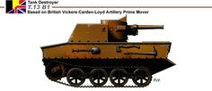 Ww2 belgian tank destroyer