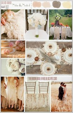 The Bridal Boulevard: dream board