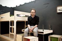Im Designmonat Graz präsentiert Perludi Möbel von Krethaus. Designerin Karina Kreth hat das argentinische Unternehmen im Jahr 2009 in Buenos Aires gegründet und sich durch das ebenso einladende wie puristische Design der Stücke einen Namen gemacht.  #dmg16 #graz #furniture #children #nursery