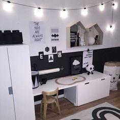 Montessori room: 60 amazing and intelligent projects - Kinderzimmer Jungs - Quarto do Bebê Baby Bedroom, Baby Boy Rooms, Kids Bedroom, Bedroom Decor, Toy Rooms, Kids Room Design, Kid Spaces, Kids Decor, Playroom Decor
