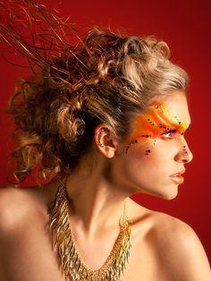 """Fire Fairy Costume Ideas Beautylish.com. """"fire"""" costume"""