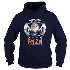 Borzoi Never Underestimate Woman With A Borzoi Dog T-Shirts, Hoodies ==►► Click Image to Shopping NOW!