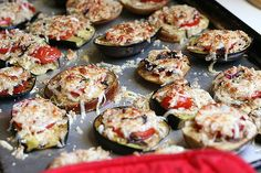 Grilled Eggplant Parmesan by @Natalie Perry.