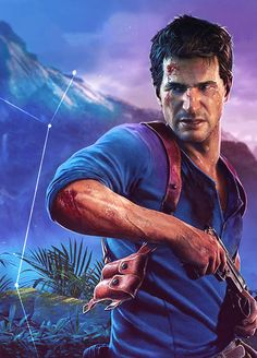 《Uncharted A Thief's End / Nathan Drake》 Nathan Uncharted, Uncharted Series, Nathan Drake, Beyond Two Souls, Quantic Dream, Dangerous Games, Gaming Wallpapers, Video Game Characters, Bioshock