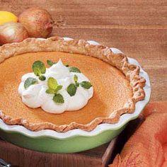 Sweet Potato Custard Pie