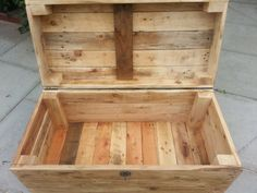 Handmade Rustic Storage Chest with by TimberWolfFurniture on Etsy