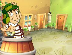 Planttilla invitacion chavo del 8 animado