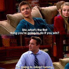 """""""I'm going to adopt Tommy."""""""