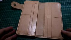 Small Leather Goods I was never a fan of big wallet, but... what the hell... lets make one... This is part 3, shows how the left compartment was made... hope...
