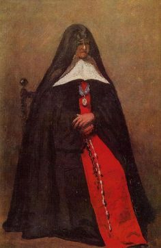 artist-corot: The Mother Superior of the Convent of the...