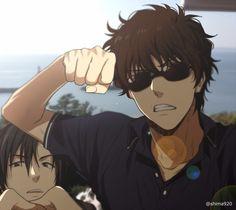 荻原 & 松田 Manga Anime, Haikyuu Manga, Hibi Chouchou, Detective Conan Shinichi, Detective Conan Wallpapers, Amuro Tooru, Kaito Kid, Detektif Conan, Hot Anime Boy