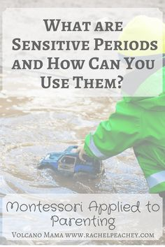 What are Sensitive Periods and How Can You Use Them? Montessori Applied to Parenting