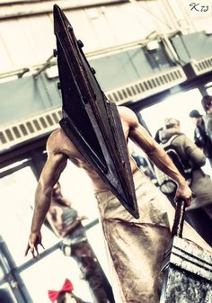 Me Leobane Cosplay as PYRAMID HEAD PH from SILENT HILL SH https://www.facebook.com/leobanec/