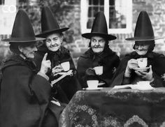 Vintage Witches Tea Party | This photo was uploaded by ouiband1. Description from pinterest.com. I searched for this on bing.com/images