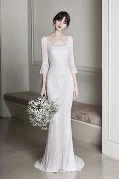 로브드케이 ROBE DE K Pink Evening Dress, Evening Dresses, Formal Dresses, Malay Wedding Dress, Elegant Bride, Bridesmaid Dresses, Wedding Dresses, Wedding Bells, Wedding Styles